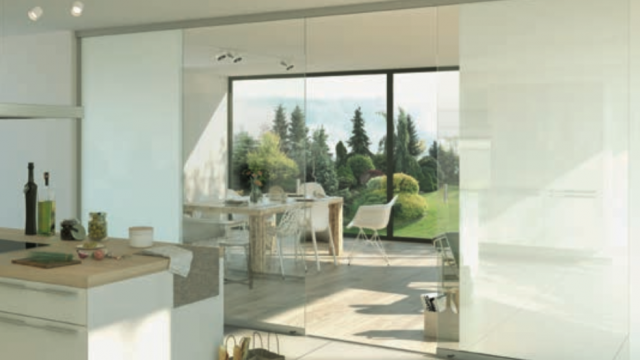 The new W17 Easy Full Glass sliding door