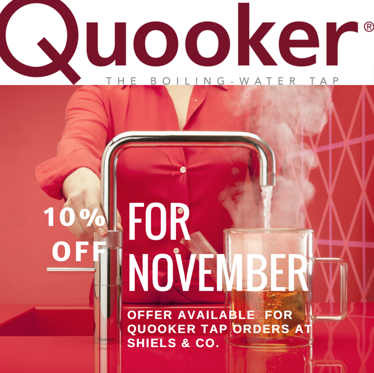 Quooker- the boiling water tap